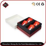 Heißer stempelnder Farben-Geschenk-Papier-Nahrungsmittelkasten mit Firmenzeichen-Drucken