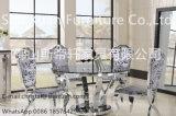 공상 디자인 금속 대리석 가정 가구를 위한 현대 스테인리스 식탁