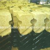 Phosphated Alumina van 85% plakte de Vuurvaste Ceramische Bakstenen van Ankers