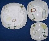 食事用食器セット(正方形の形)