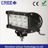 단 하나 줄 7.5inch 9-48V 40W 크리 사람 LED 자동 4X4 표시등 막대