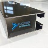 陽極酸化された青銅色の黒いカスタマイズされたカラーの6000のシリーズアルミ合金のプロフィール