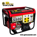 Factory Price를 가진 5.5kw Electric Petrol Generator