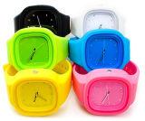 Het Verwisselbare Horloge van uitstekende kwaliteit van de Gelei van het Silicone van de Beweging van het Kwarts van Japan