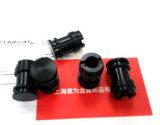 De Precisie CNC die van de vervaardiging Zwarte Plastic Delen machinaal bewerken (sw-PL03)