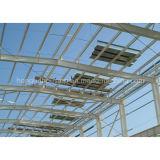 Edificio prefabricado de la casa prefabricada ligera de la estructura de acero