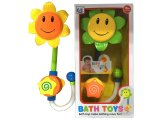 Lindo cuarto de baño rociador de cabeza de girasol juguete de baño de juguete