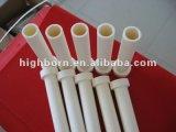Tube de four en céramique d'embout d'alumine industrielle de 99%