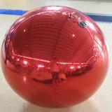 풍선을 광고하는 다채로운 팽창식 미러 공