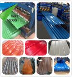Strato del tetto del metallo di PPGI/PPGL/lamine di metallo ondulate mattonelle d'acciaio del ferro