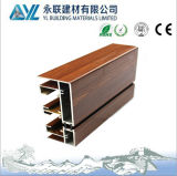 Alta qualità Wood Grain Aluminum Profile per Windows e Doors Used