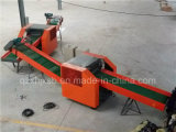 Cortador de pano Waste eficiente elevado Multifunctional da máquina de estaca da fibra do cortador de pano