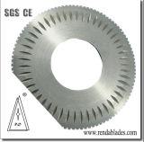 Circulaire de la Serviette Serviette de table pneumatique automatique Teethed couteau scie pour la perforation de la machine coupe d'emballage