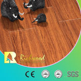8.3mm Vinyl HDF Embossed Walnut U-Grooved Laminated Wood Wooden Flooring