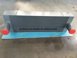 Dispositivo di raffreddamento di alluminio su ordinazione di aria della carica della barra e del piatto