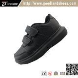De Tennisschoen die van de Schoenen van jonge geitjes Toevallige Zwarte Schoenen 20296-2 in werking stellen van de Sport van Schoenen