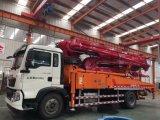 caminhão concreto móvel da bomba do crescimento do caminhão de 37m com sistema de bombeamento de 66 Cbm/Hr