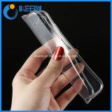 Ultrafino Slim Caso Telefone TPU transparente para iPhone8, Iphonex caso