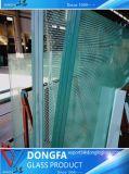Vidro laminado temperado antirroubo para grandes janelas/portas da parede de vidro