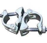 Raccord double pour le tube en acier galvanisé et l'accouplement échafaudage