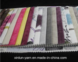 100%Polyester decoración Liene que se reúne la tela para el sofá