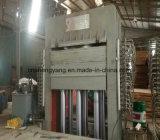 La pellicola calda della macchina della pressa del compensato della melammina ha affrontato il compensato che fa la macchina