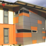 Dubai High quality Building Construction material PVDF Aluminum Composite panel