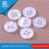 2つの穴ポリエステルプラスチック樹脂ボタン