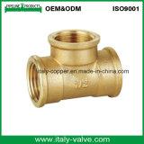 O bronze da qualidade forjou o T igual da tubulação (AV-70024)