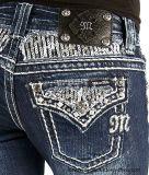 Металлическая резьба для джинсыов связала резьбу вышивки конца износа (2013)