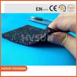 Gimnasio de caucho de bloqueo de caucho suelo suelos DOT para alta a los golpes la almohadilla de goma