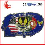 Fábrica personalizada do emblema da liga do zinco da lembrança