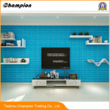 중국 PVC 3D Wallpaper 또는 Wall Coating 3D Home Decor European Style 의 Kids를 위한 소리 Absorbing XPE Foam Brick Stone Pattern 3D Wallpaper