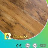 12 mm Eir U Groove Revêtement de cire d'érable stratifié Revêtement de sol stratifié