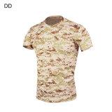 Tactique de camouflage tactique de plein air T-Shirt Cl34-0069
