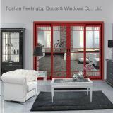 Теплоизоляция порошковое покрытие алюминиевая рама двери салона (фут-D143)