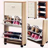新しい木の家具デザイン靴の収納キャビネット