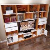 大きい容量の木の家具TVの立場かTVのキャビネット