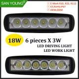 6pouce 18W Projecteur LED LED LED Auto lampe de feu de brouillard