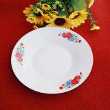 Piatto di pranzo di ceramica del commercio all'ingrosso del piatto della porcellana della Cina