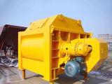 De beste Verkopende TweelingMachine van de Bouw van de Concrete Mixer van de Schacht Js/Jzm/Pan Elektro