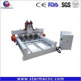 Selbst gemachter 4 Mittellinie Dreh-CNC-Fräser-beweglicher Fräser CNC 3D