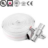 4 pouces User-Résistant au tuyau d'incendie rayé par PVC pour la lutte contre l'incendie