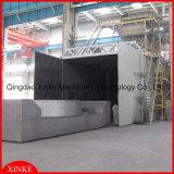 Große Teil-Drehung-Tisch-Granaliengebläse-Maschine