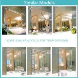 Espelho de Parede quadrado espelho decorativo de arte com estrutura de MDF