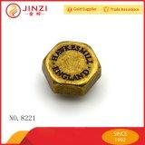 骨董品黄銅との1つの月の販売の1000000PCSによってカスタマイズされるロゴのDesigenのリベットの名前
