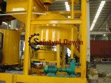 セメントのプラント製造業者25m3の小さい移動式携帯用は組合せの具体的な区分のプラントをぬらした