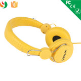MP3 Stereo Cheap Custom Printed Logo Headphone for Promotion Gift