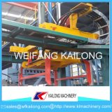鋳物場の鋳造機械のための鋳鉄のモールド・ライン金属の鋳造の砂の形成機械