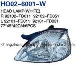 KIA 리오 2003년 OEM를 위한 자동차 부속 고품질 헤드 램프: 92102-Fd010/92101-Fd010/92101-Fd011/92102-Fd011